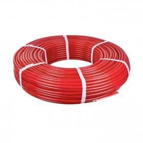 Труба PEX-A RAFTEC  з кисневим бар'єром Red